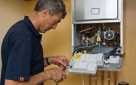 Image result for central heating boiler servicing
