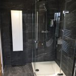 Clean Line Merlyn Series 8 framless offset Quadrant shower enclosure